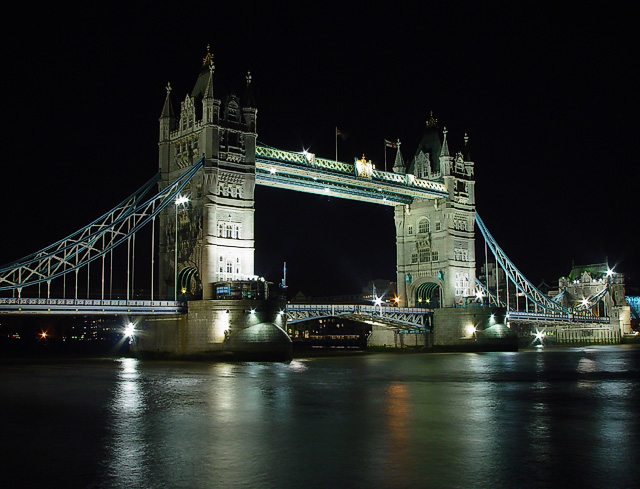 Tower Bridge After Dark