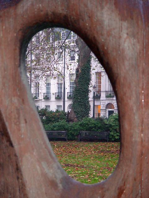 The hole of the square
