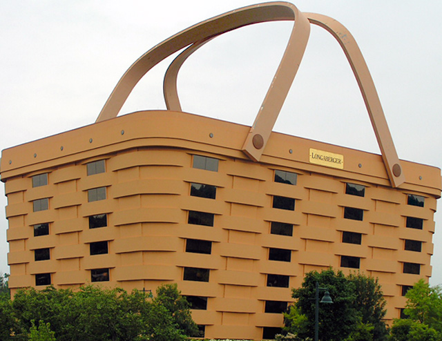 A basket of a Building