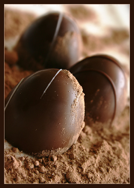 Truffles with Cocoa