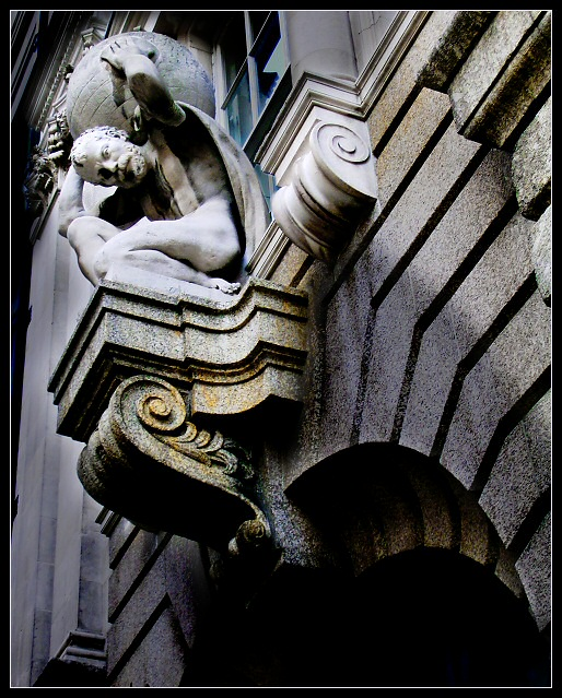 Architectural detail: the City of London