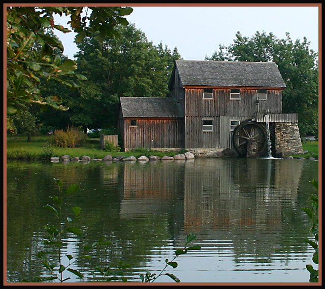 Midway Village Water Mill