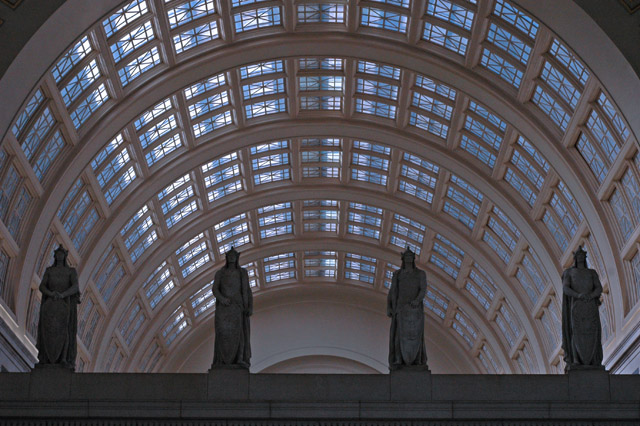 January-Washington DC Union Station
