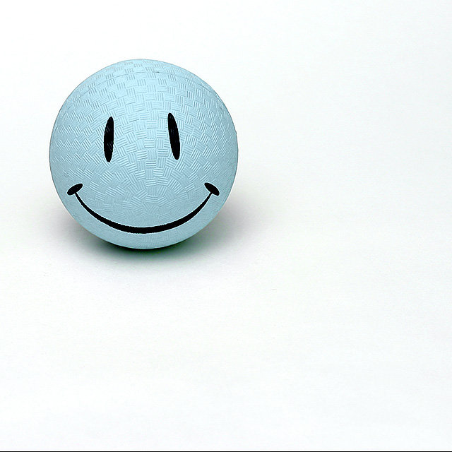 smile when you're blue