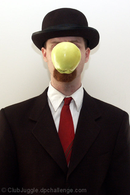Son of 'Son of Man' (Magritte Revisited)