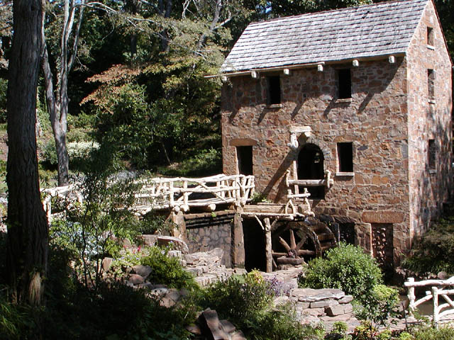 "The Old Mill of the movie ""Gone With The Wind""."