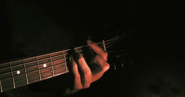 The Guitarist's Hand