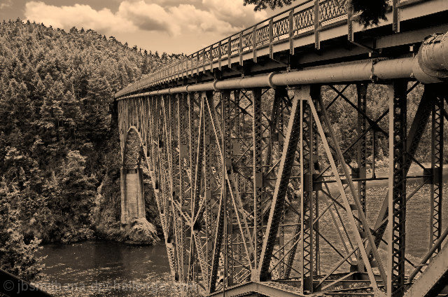 Deception Pass Bridge - 1930's