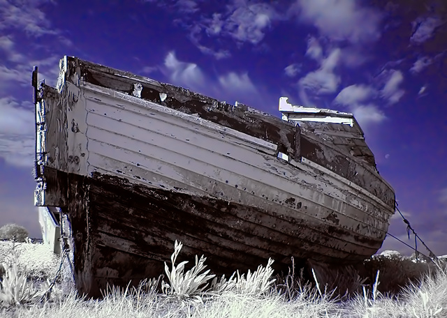 Shipwreck (infrared)