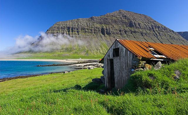 old wooden farmhouse by gudbjargarson dpchallenge