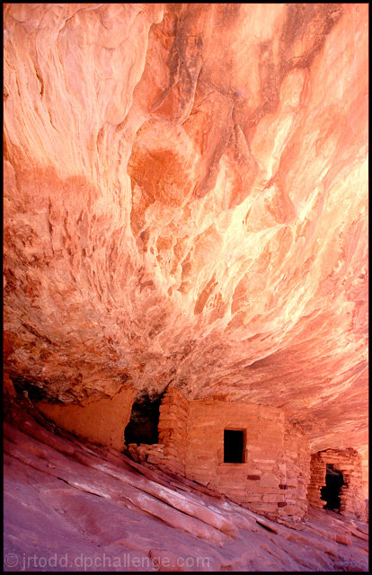House on Fire, Mule Canyon Cliff Dwellings