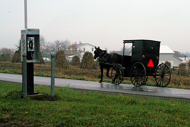 Technology Invades Amish Country