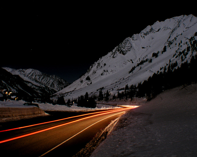 Little Cottonwood Canyon Road