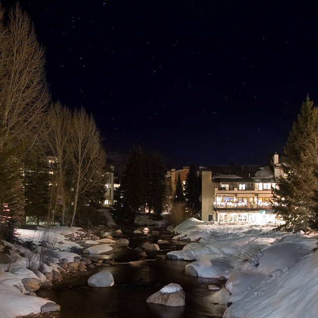 A clear night in Colorado