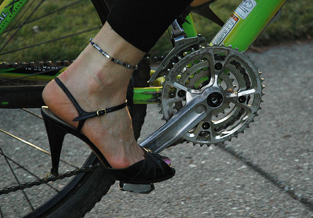 Pedals and Heels