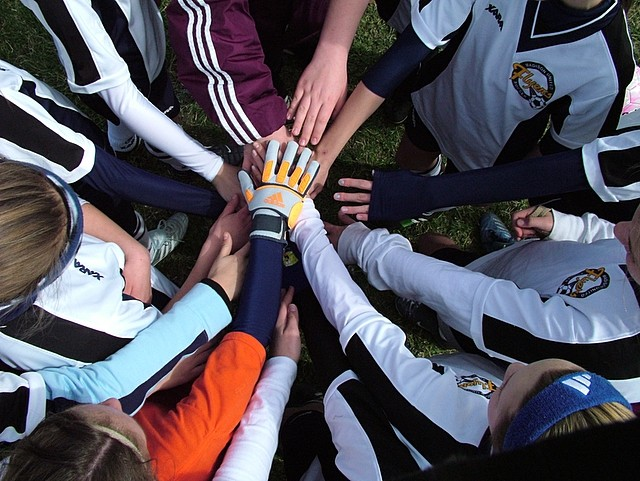 Hands of Teamwork
