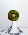 The Splash of a Kiwi