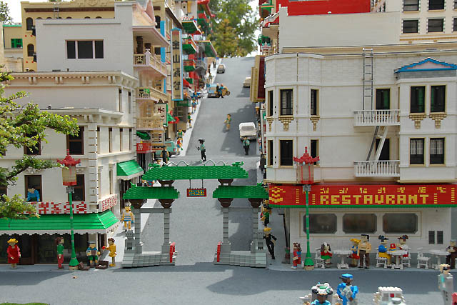 China Town - Lego Style