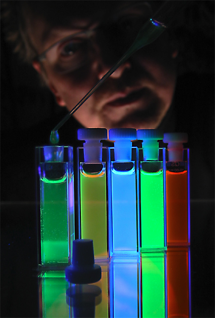 Fluorescence: bringing color in a chemists life