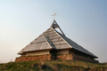 Church built  with Friendly Earth material