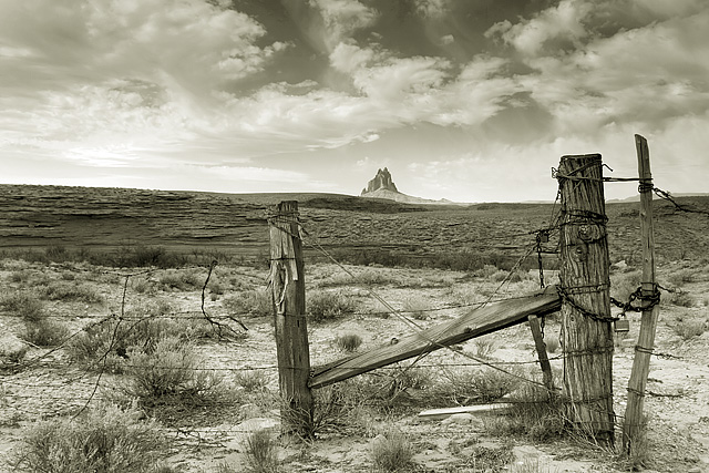 New Mexico Desolation Locked In