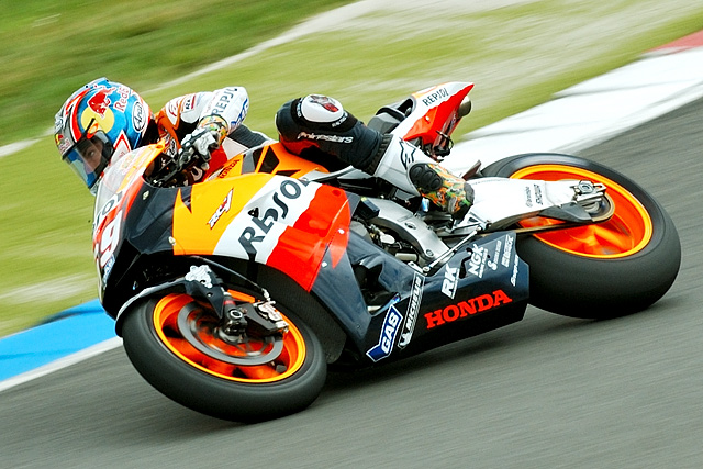 Nicky Hayden, winner of the Dutch TT MotoGP