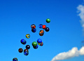 Glass Marbles in the Sky