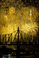 Fireworks over the Queensboro Bridge