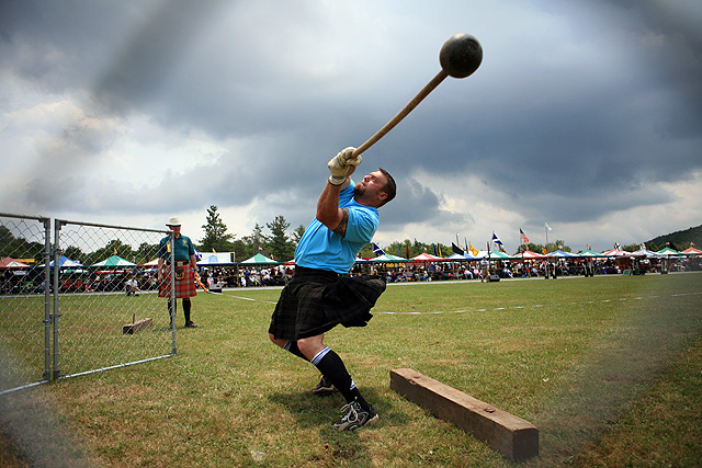 Scottish Hammer Throw By Longfist Dpchallenge