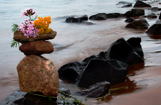Tranquility on the Rocks