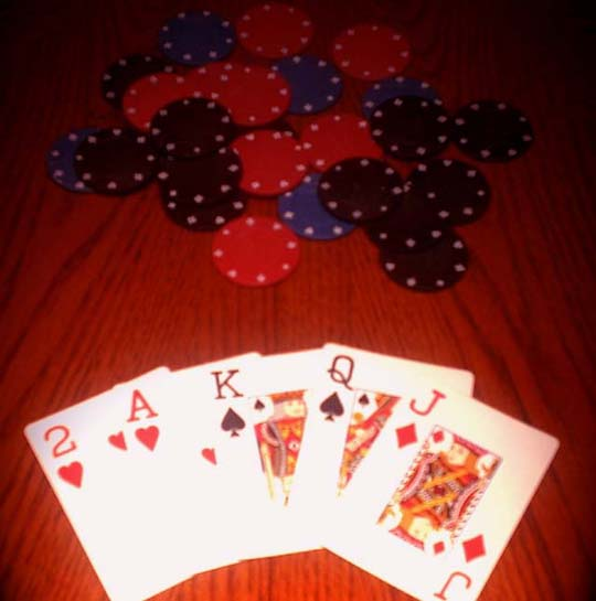 Peices of Poker