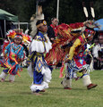 Young Dancers at the Pow Wow