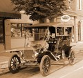 Ford's transportation in its infancy