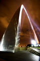 St. Louis Arch - Night Shot