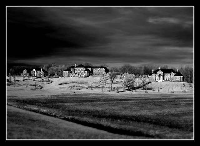 The Hill In Infrared