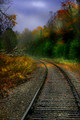 Rails Through Autumn