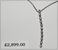 Diamond necklace - £2899............The smile on her face - Priceless