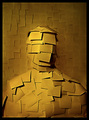 Sticky Note Man (Contemporary Mummy)