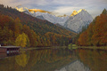 The Riessersee and the Zugspitze