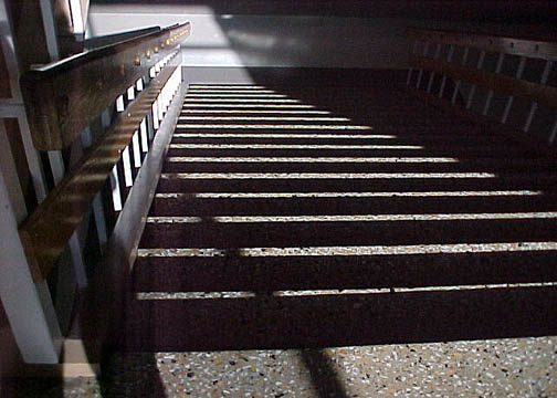Shadow On A Staircase