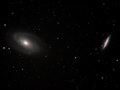 Two Galaxies (M81 and M82)