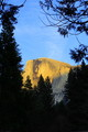 Sunset Over Halfdome