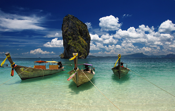 Boats of the Andaman Sea
