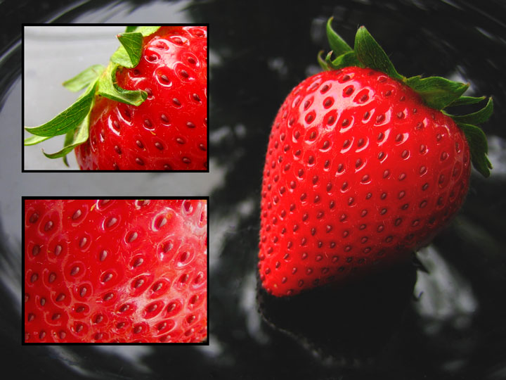 Anatomy of a Strawberry by jeannybeany - DPChallenge