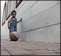 Crazy about Michael Jordan , and love Ronaldinho... Hope to be a basket - football player
