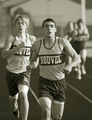 Dueling it out in the 800 meters