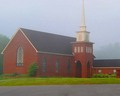A PLace of Worship on a foggy Sunday morning