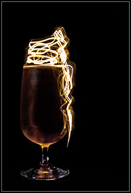 'Light' Beer - The Perfect Pour