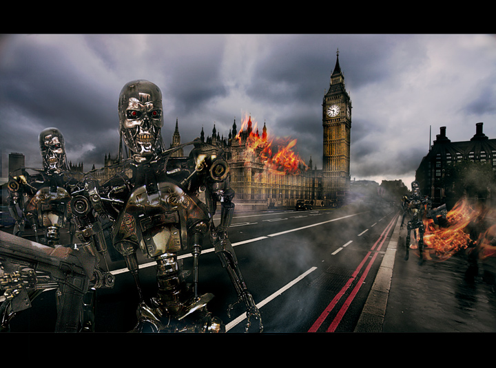 TERMINATOR 4 - THE FALL OF LONDON