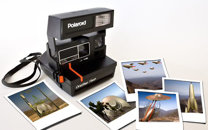 Polaroid's from Planet X